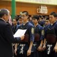 中学男子の部・3位:南稜中学校