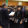 中学女子の部・準優勝:田原東部中学校